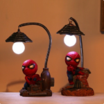 Spiderman Little Statues with LED Lights (4 Designs)