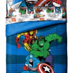 Avengers Comics 4 Piece Twin Bed Set 2