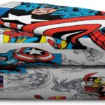 Avengers Comics 4 Piece Twin Bed Set 6
