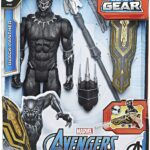 Avengers Marvel Titan Hero Series Blast Gear Deluxe Black Panther Action Figure 12-Inch Toy 2