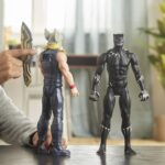 Avengers Marvel Titan Hero Series Blast Gear Deluxe Black Panther Action Figure 12-Inch Toy 4
