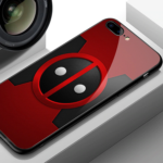 Deadpool Glass Style Phone Case for iPhone (9 Different Designs) 5