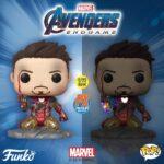 Funko Pop! Avengers Endgame I Am Iron Man Glow-in-The-Dark Deluxe Vinyl Figure, Multicolored 3