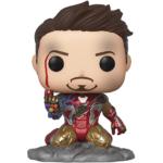Funko Pop! Avengers Endgame I Am Iron Man Glow-in-The-Dark Deluxe Vinyl Figure, Multicolored 34