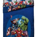 Marvel Avengers Blue Circle Bed Set Full Size 2