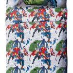 Marvel Avengers Blue Circle Bed Set Full Size 4