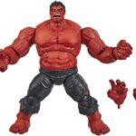Marvel Deluxe Exclusive Legends Red Hulk Action Figure