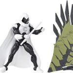 Marvel Legends Moon Knight Action Figure 6Inch (Vulture's Flight Gear BAF)