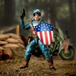 Marvel Legends Series 6″ Captain America Action Figure With Motorcycle World War II, Shield And Helmet 10