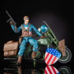 Marvel Legends Series 6″ Captain America Action Figure With Motorcycle World War II, Shield And Helmet 4