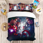 The Avenger Bed Set and Duvet Covers (14 Different Designs)