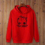 I AM GROOT Hoodie Unisex (16 Different Colors)