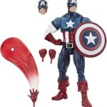 Marvel Legends Series Comics 80th Anniversary Vintage Comic-Inspired Captain America Action Figure 6Inch