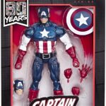 Marvel Legends Series Comics 80th Anniversary Vintage Comic-Inspired Captain America Action Figure 6Inch 2