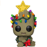 Pop! Marvel Holiday Groot With Wreath