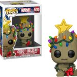 Pop! Marvel Holiday Groot With Wreath 2