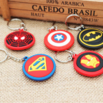 Superheroes Shields and Figures Keychains (10 different designs) 3