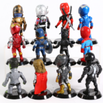 Set of 12 Avengers Collectible Figures 3.9inch 3