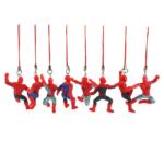 Set of 8 Keychains Mini Spider Man Figures 1.9 Inch 6