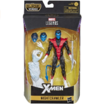 Marvel Legends Nightcrawler X-Men Action Figure 6-inch (Wendigo BAF) 6