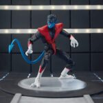Marvel Legends Nightcrawler X-Men Action Figure 6-inch (Wendigo BAF) 8