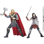 Marvel The First Ten Years Thor The Dark World Thor and Sif Action Figures 6-inch