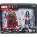 Marvel The First Ten Years Thor The Dark World Thor and Sif Action Figures 6-inch 2