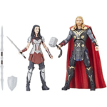 Marvel The First Ten Years Thor The Dark World Thor and Sif Action Figures 6-inch 3